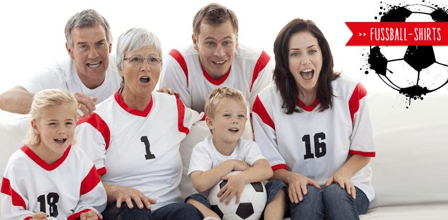 Fußball-Shirts selbst gestalten