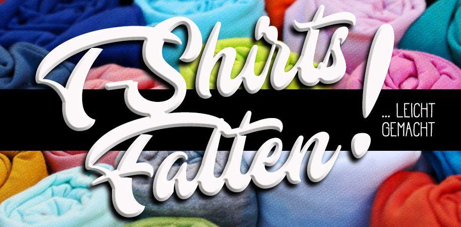 T-Shirts falten leicht gemacht