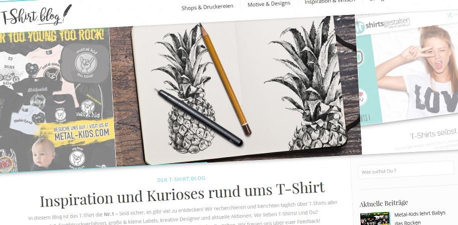 Der T-Shirt Blog von webwidoo.com